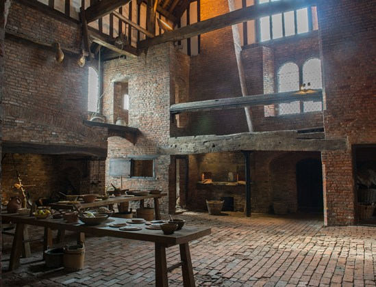 Medieval Kitchen Gainsborough Old Hall